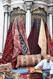 伊斯坦布尔,火鸡义卖市场  免版税库存照片