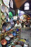 伊斯坦布尔,火鸡义卖市场  库存照片