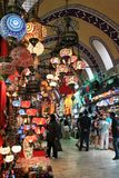 伊斯坦布尔,火鸡义卖市场  免版税库存图片