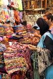 伊斯坦布尔,火鸡义卖市场  免版税图库摄影