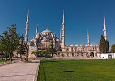 伊斯坦布尔,蓝色清真寺 免版税库存照片