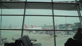 伊斯坦布尔-土耳其阿塔图尔克机场 影视素材