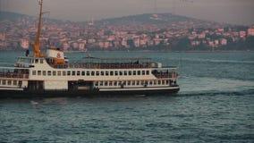 伊斯坦布尔/海/Bosphorus桥梁/galata桥梁/2015年12月 影视素材