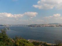 伊斯坦布尔- Bosphorus 免版税库存照片