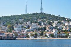 伊斯坦布尔Kinaliada Island公主 库存照片