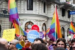 伊斯坦布尔LGBT自豪感2013年 免版税库存图片