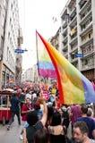 伊斯坦布尔LGBT自豪感2013年 库存图片