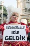 伊斯坦布尔LGBT自豪感2013年 免版税图库摄影