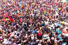 伊斯坦布尔LGBT骄傲游行 免版税库存照片