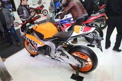 伊斯坦布尔Moto自行车商展 库存图片