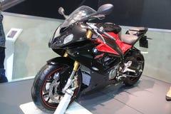 伊斯坦布尔Moto自行车商展 库存照片