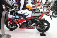 伊斯坦布尔Moto自行车商展 免版税库存图片
