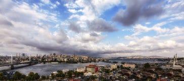 伊斯坦布尔PANAROMA 免版税图库摄影