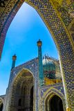 伊斯法罕伊朗王清真寺29 免版税库存照片