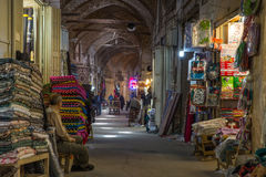 伊斯法罕,伊朗皇家义卖市场  库存图片