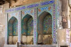 伊斯法罕,伊朗皇家义卖市场  免版税库存图片