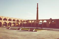 伊斯法罕,伊朗- 2016年10月06日:Lotfollah Mosque回教族长Naq的 免版税库存图片