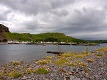 伊斯代尔岛海岛海岸 免版税库存照片
