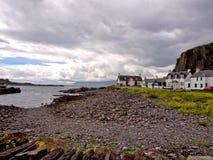 伊斯代尔岛海岛海岸 库存照片