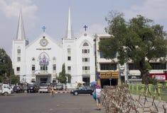 伊曼纽尔施洗约翰教堂 免版税图库摄影