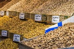 伊朗义卖市场在德黑兰 免版税库存图片