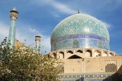 伊朗伊斯法罕清真寺 免版税库存照片