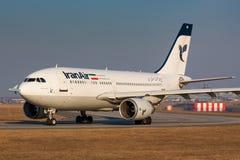 A310伊朗航空 图库摄影