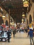伊本・白图泰购物中心在迪拜,阿拉伯联合酋长国 库存图片
