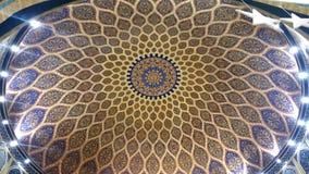 伊本・白图泰购物中心,迪拜-阿拉伯联合酋长国波斯法院 库存照片