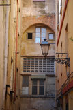 伊格莱斯,镇,撒丁岛,意大利,欧洲的老部分 免版税图库摄影