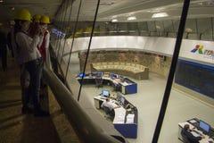 伊泰普水电站水坝-伊瓜苏-巴西 库存照片