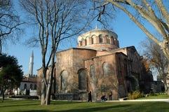 伊琳娜,伊斯坦布尔,土耳其教会在Topkapi宫殿里面的 库存照片
