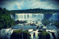 伊瓜苏瀑布,密西昂奈斯,阿根廷 库存图片