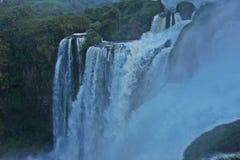 伊瓜苏瀑布,密西昂奈斯,阿根廷 免版税库存图片