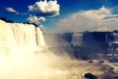 伊瓜苏瀑布,密西昂奈斯,阿根廷 图库摄影