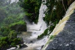 伊瓜苏瀑布,阿根廷 免版税库存图片