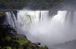 伊瓜苏瀑布-南美, 免版税库存照片