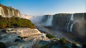伊瓜苏瀑布(巴西) 库存照片