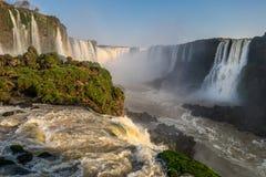 伊瓜苏瀑布(巴西) 图库摄影