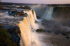 伊瓜苏瀑布(巴西) 免版税库存图片