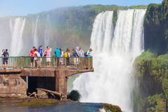 伊瓜苏瀑布 库存图片