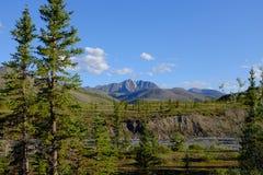 伊瓦维克国家公园山  免版税库存照片