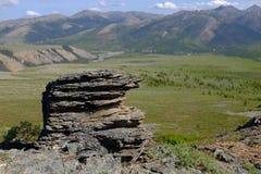 伊瓦维克国家公园山  库存图片