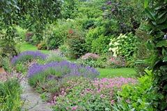 伊甸园庭院 库存图片