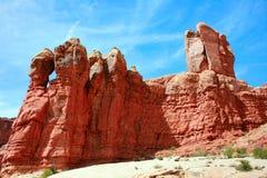 伊甸园拱门国家公园,犹他美国 免版税库存照片