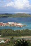 伊甸园海岛 库存图片
