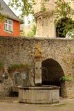 伊茨泰因,德国城堡  免版税库存图片