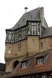 伊茨泰因,德国城堡  库存图片