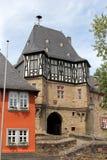 伊茨泰因,德国城堡  库存照片