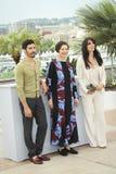 伊莎贝拉・罗塞里尼,纳迪娜Labaki, Tahar Rahim 库存图片